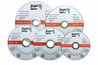 Thin metal cutting discs, size 115mm.