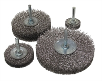 Spindle Mounted Radial Wire Brush Wheel