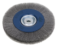 Bevel Profile Stainless Steel Wire Brush Wheel