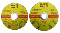 Right Lines Premium Thin Cutting Disc
